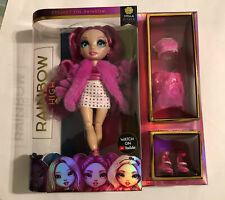 Rainbow High Series 2 Stella Monroe Hot pink New In Box New Release!