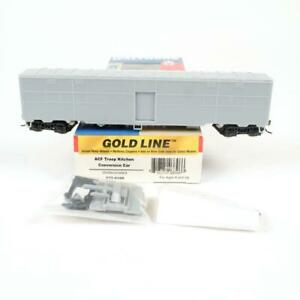 Walthers Gold Line HO Undecorated ACF Troop Kitchen Conversion Car 932-4199