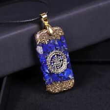 Natural Gemstone Necklace Pendant Energy Healing Crystal Unisex Jewelry Gift New