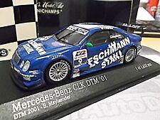 MERCEDES Benz CLK V8 Coupe DTM 2001 Mayländer Eschmann Stahl #9 Minichamps 1:43