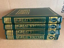 THE GREAT WRITERS - COMPLETE 52 MAGAZINES IN BINDERS