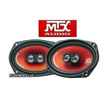 "MTX Speakers TR694 Terminator 6""X9"" 3 Way Coaxial Speakers 300w inc grilles"