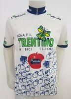 MAGLIA SHIRT CICLISMO ROMA E IL TRENTINO SEB 98 TG.XL CYCLING ITALY JERSEY MB443