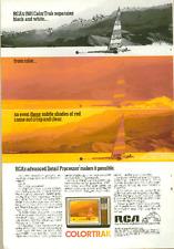 1980 Magazine Ad - Rca - Featuring the 1981 ColorTrak Tv