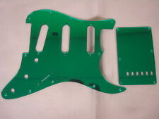Strat Stratocaster Green Mirror pickguard set Fender