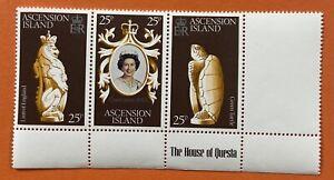 Ascension island. 1978 Queen Elizabeth Coronation Silver Anniversary MNH