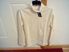 BRAND NEW WOMEN'S SIZE MEDIUM BASIC EDITIONS TURTLE NECK