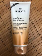 Nuxe Prodigieux Precious Scented Golden Shimmer Shower Oil 300 ml  Brand New