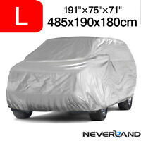 Large Full Car SUV Cover Outdoor Waterproof UV Dust Rain Resistant For Mazda CX7