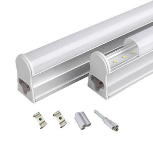 T5 LED INTEGRATED LED TUBE 300MM 600MM IN COOL WHITE POWER EXTENSION LINK CABLE