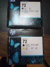 2 Druckköpfe HP Designjet Nr. 72, 1x Photo schwarz, 1x schwarz matt / gelb