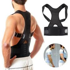 Posture Corrector Adjustable Clavicle Back Support Brace for Men & Women PT UK