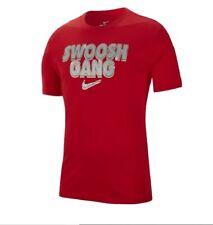 Nike S/S SPORTSWEAR SWOOSH GANG T-SHIRT RED/MULTICOLOR BQ0692-657