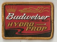 Budweiser Official Beer of Hydro-Prop Embroidered Patch