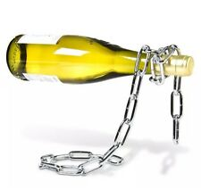 Menkind Noval Wine Bottle Holder Magic Levitating Chain Great Gift Idea