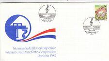 South Africa 1982 International Pianoforte Competition Pretoria Cover VGC