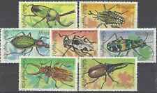 Timbres Insectes Mongolie 1843/9 ** lot 19588