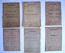 CHANTIER St NAZAIRE «PENHÖET» 11 PLANS TECHNIQUES ANCIENS TRES RARES (1936/51)