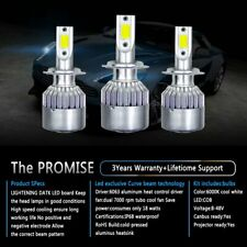 9006 HB4 1600W 225000LM CREE LED Headlight Kit Low Beam 6000K White High Power