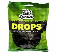 Gustaf's Sweet & Soft Dutch Licorice Drops, 5.2 Oz Bag NON GMO Fat Free