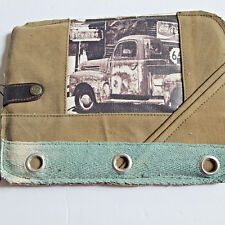 Antique Truck iPAD Tablet Sleeve Bag Recycled Canvas Vintage Addiction Laptop