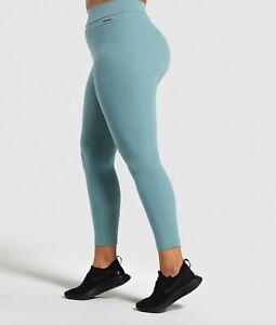 Gymshark Leggings Whitney Legging Deep Sage Green S Size Gym Fitness Pants