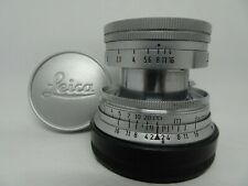 Leica Summicron 50mm f/2 Collapsible M mount Lens