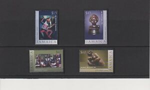 Jamaica Art Christmas Issue of Year 2002 Set MNH Scott 961-964