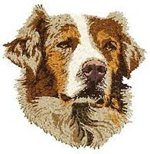 "Australian Shepherd, Aussie Dog, Embroidered Patch 2.6"" Tall"