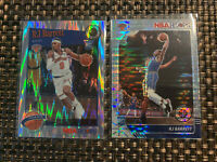 RJ BARRETT 2019-20 NBA HOOPS PREMIUM STOCK SILVER ROOKIE PULSAR PRIZM & FLASH LT