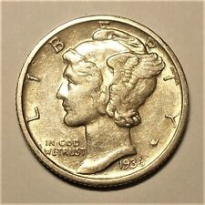 New listing 1936-D About Uncirculated-Uncirculated Mercury Dime (16,132,000 Minted)