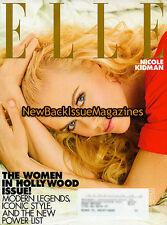 Elle 11/08,Nicole Kidman,Subscription Cover,November 2008,NEW