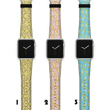 Banana Apple Watch Band 38 40 42 44 Series SE 6 5 1 2 3 4 Wrist Strap iWatch S24