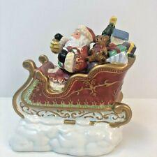 Christmas Santa Replacement Sleigh For Reindeer Candle Holder Set Kirkland