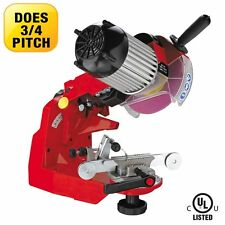Electric chain saw grinder Jolly Star 120V sharpens chisel and semi chisel chain