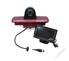 "Vauxhall Vivaro Renault Traffic Brake Light LED Rear Reversing Camera + 4.3"" LCD"