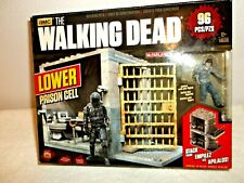 Walking Dead McFarlane Building Construction Set Lower Prison Cell NEW  Other