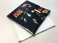 100 x LP Schutzhüllen aus PE 150µ Die Dicken
