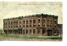 First National Bank Building-Lawton-Oklahoma-Vintage Postcard