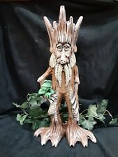 Tree Ent Forest Gnomes Trolls Lord Rings Planter Ceramic Handpainted