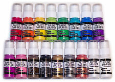 LOT 17 Ranger Acrylic Paint Dabbers - Complete Set - Including Metallics - NEW