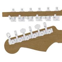 Hipshot 6K1EL0C-STAG Guitar Tuner Upgrade Kit (6 Inline Headstocks,) Chrome