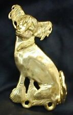 Chinese Crested, hairless Hook in Bronze