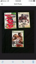 NCAA Football 10' And NCAA Basketball 08' XBOX 360 *Individual*