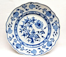 "Blue Onion Meissen Porcelain Germany Plate  8 3/8""  Oval Stamp  #2"