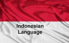 Learn INDONESIAN Language - 100 Lessons Audio Book MP3 CD - iPod Friendly