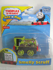 "Thomas & Friends - Take-n-Play - Die-Cast Metal Vehicle - ""Smelly Scruff"" Age 3+"