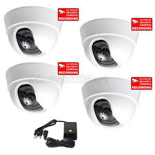 "4 Wide Angle Security Camera with 1/3"" SONY Effio CCD 600TVL High Resolution cc4"