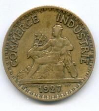 RARISSIME MONNAIE 2 FRANCS CHAMBRE DE COMMERCE DE 1927