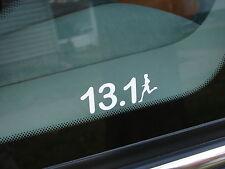 """13.1 Half Marathon Decal Sticker Runner Logo Run *NEW Design 6"""""""
